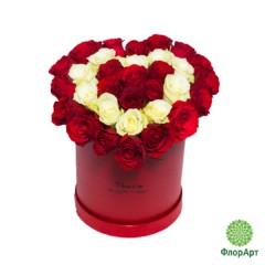 Шляпная коробка Любящее Сердце
