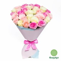 Букет из 29 кенийских роз
