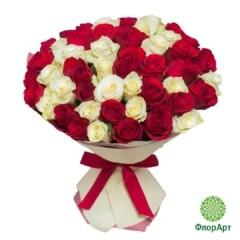 Букет из 49 кенийских роз