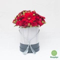 Шляпная коробка Аленький Цветочек